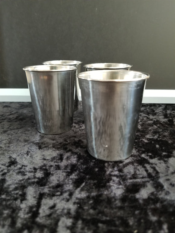 Stylish Tin Tumblers