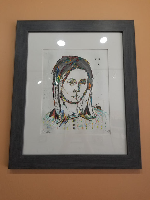 Ovadia Alkara - Signed Artist Proof Etching