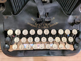 Antique Typewriter - Oliver #9