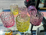 Colorful Juice Glasses