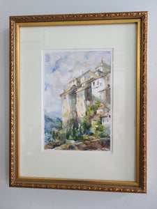 Margaret Wilson Kipp Watercolor