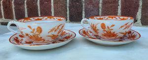 Vintage Bone China Tea Cup Set