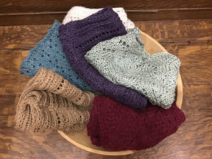 Handmade Infinity Scarves & Hats