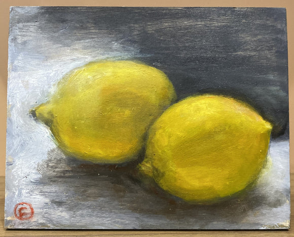 Two Lemons, by Emilia Farrell