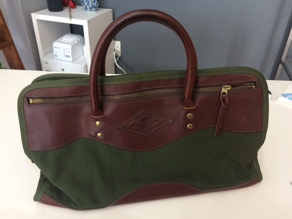Vintage Diamond Bluff Travel Gear Bag
