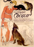 Clinique Cheron, Framed Print
