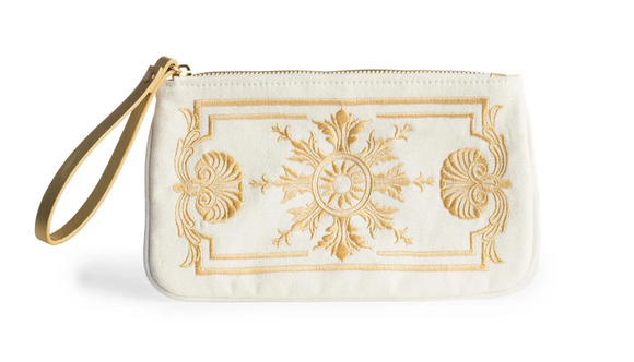 The Met Versailles Gilt Zip Pouch