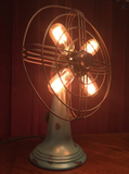 Illuminated Rotating Desk Fan