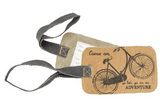 Rustic Luggage Tags
