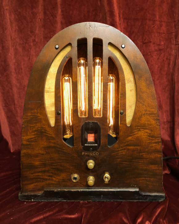 Illuminated Philco Radio with Bluetooth Audio