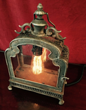 Illuminated Glass Door Lantern