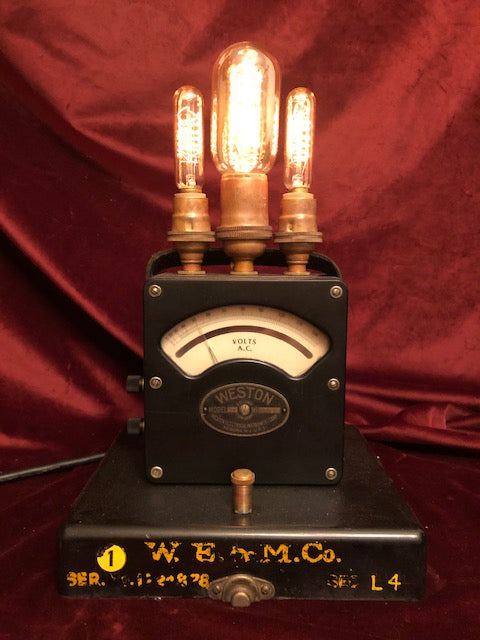 Illuminated Voltmeter