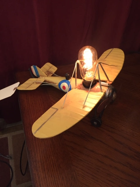 Illuminated Aeroplane