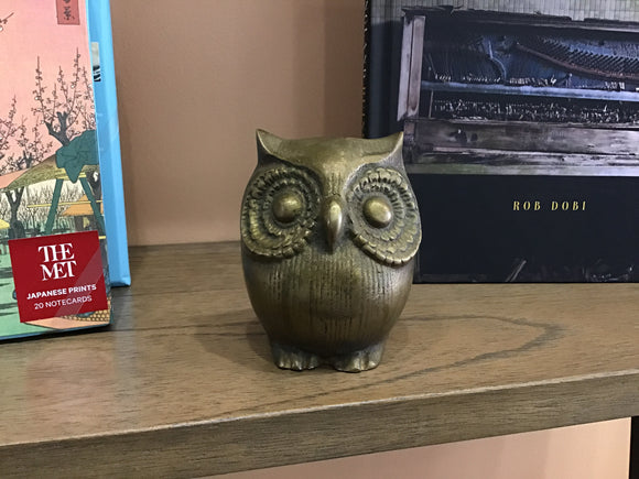 Wise-Old-Owl Figurine
