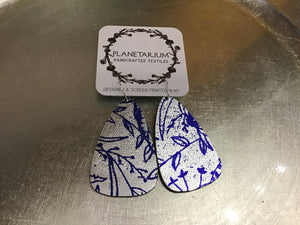 Planetarium Design Fabric Earrings