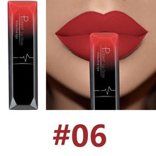 Load image into Gallery viewer, Hot Sales Waterproof Nude Matte Velvet Glossy Lip Gloss Lipstick Lip Balm Sexy Red Lip Tint 21 Colors Women Fashion Makeup Gift