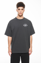 "Load image into Gallery viewer, ""GARMENTS"" GREY LOGO T-SHIRT"