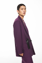 "Load image into Gallery viewer, ""紫"" PURPLE SUIT 西装外套"