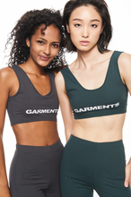 "Load image into Gallery viewer, ""GARMENTS"" GREY BRALETTE"
