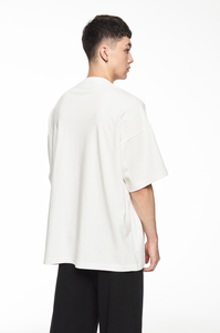 """GARMENTS"" WHITE LOGO T-SHIRT"