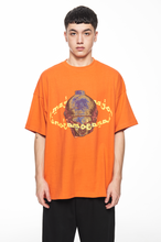 "Load image into Gallery viewer, ""MAGONIA"" ORANGE T-SHIRT"