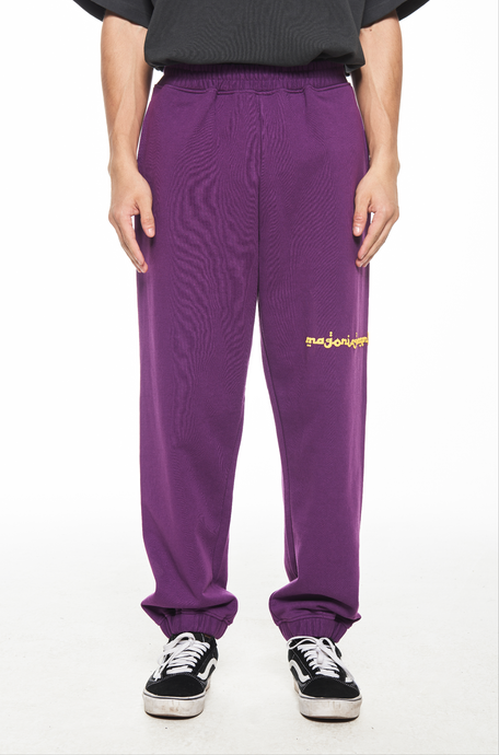 """MAGONIA"" PURPLE SWEATPANTS 卫裤"