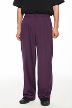 "Load image into Gallery viewer, ""紫"" TROUSERS 西裤"