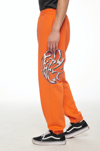 ORANGE SWEAT PANTS