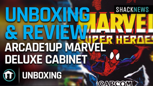 Online Unboxing & Review: Arcade1Up Marvel Superheroes Deluxe Cabinet