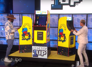 Ellen Celebrates 3,000 Shows with Arcade1Up's BANDAI NAMCO Entertainment Legacy Edition Arcade Cabinet