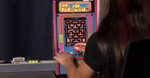 Arcade1Up's Brand New Ms. Pac-Man Counter-Cade Launches