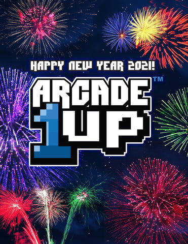 Happy New Year Arcade1Up Poster