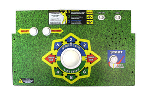 Golden Tee Button Set