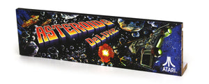 Asteroids Deluxe Marquee