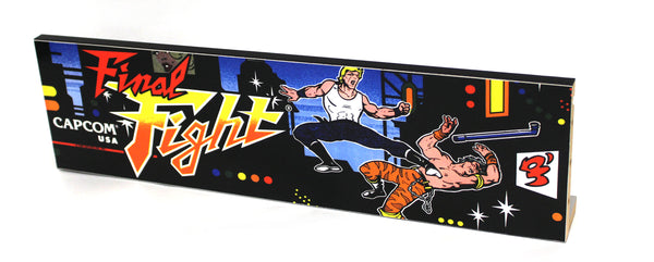 Final Fight Marquee