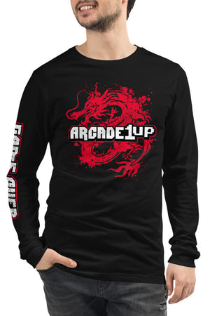 Distressed Dragon Long Sleeve T-Shirt