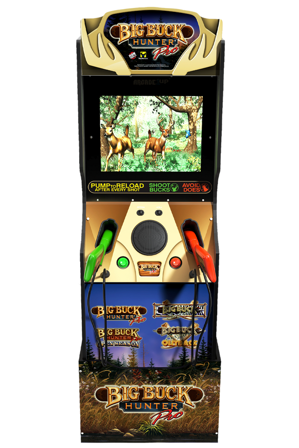 Arcade1Up's Big Buck Hunter Now Available for Pre-Order! @arcade_1up Visit https://t.co/TaXUb0Vb7q to bring home the world's favorite hunting game! #Arcade1UP #BigBuckHunter https://t.co/qHbJEEGpzB
