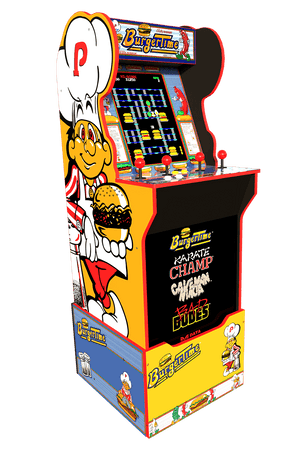 Burger Time Arcade Cabinet