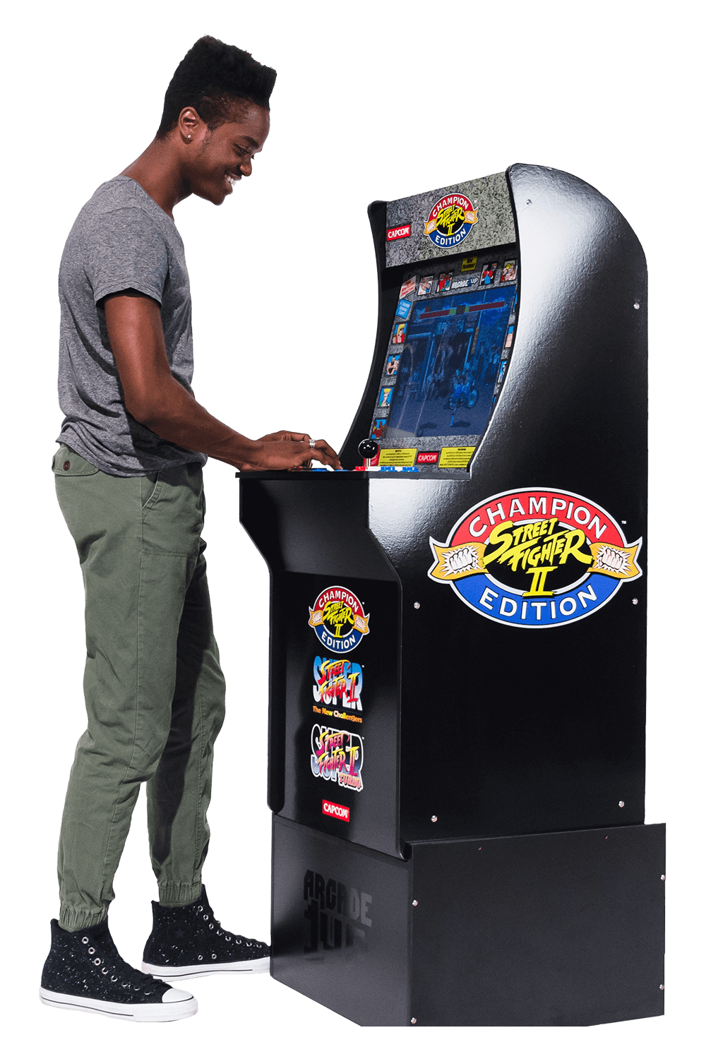 Street Fighter Arcade Cabinet Arcade1up