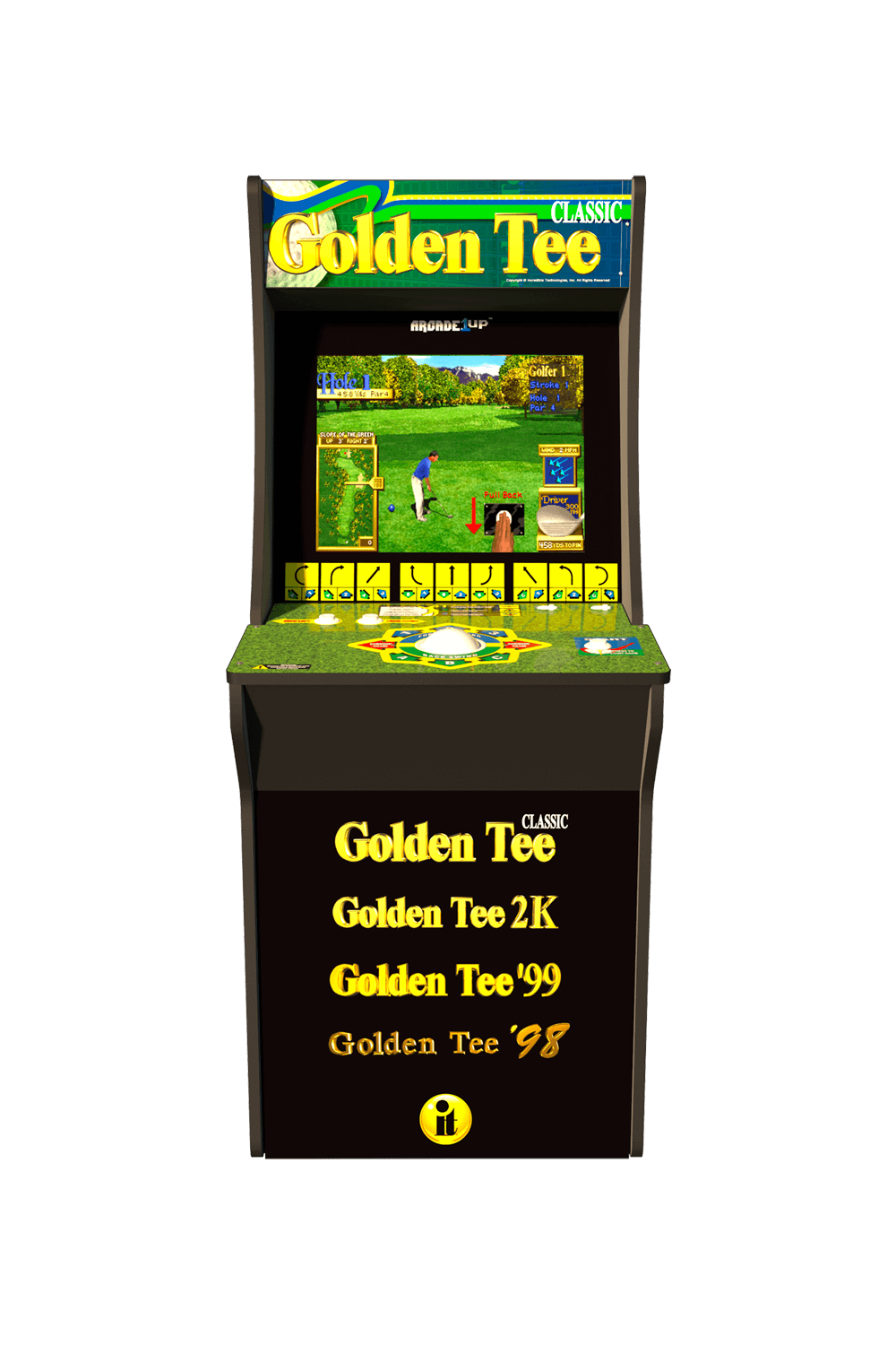 Golden Tee Arcade Cabinet - Arcade1Up