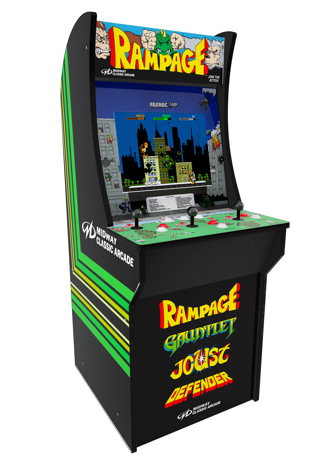 Phenomenal Arcade1Up Officially Licensed Arcade Cabinets Download Free Architecture Designs Remcamadebymaigaardcom