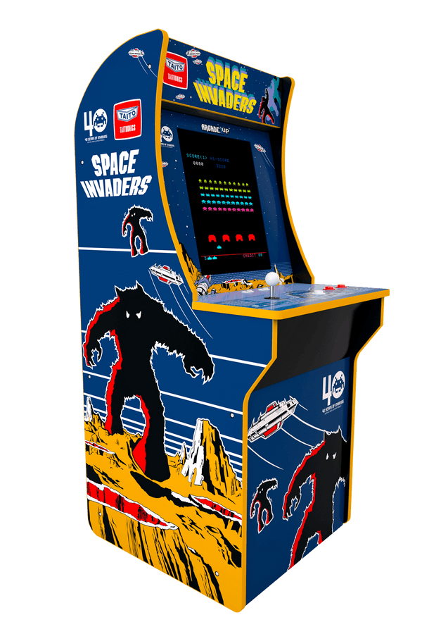 Space Invaders Arcade Cabinet