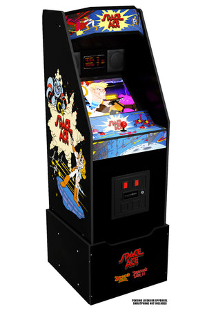 Space Ace Arcade Cabinet