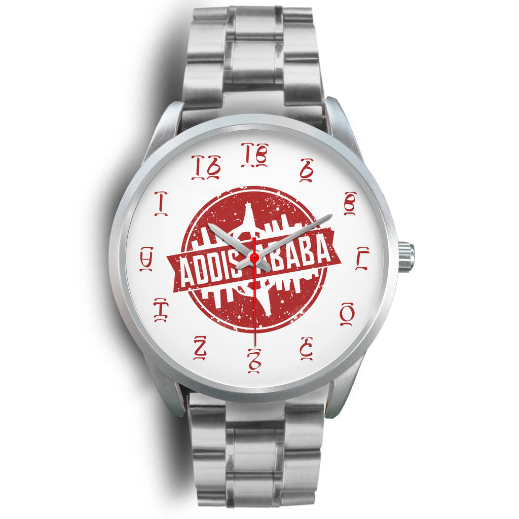 Addis Ababa Silver Watch
