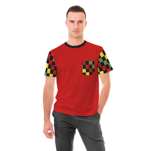GYR Checkered Pocket Tshirt