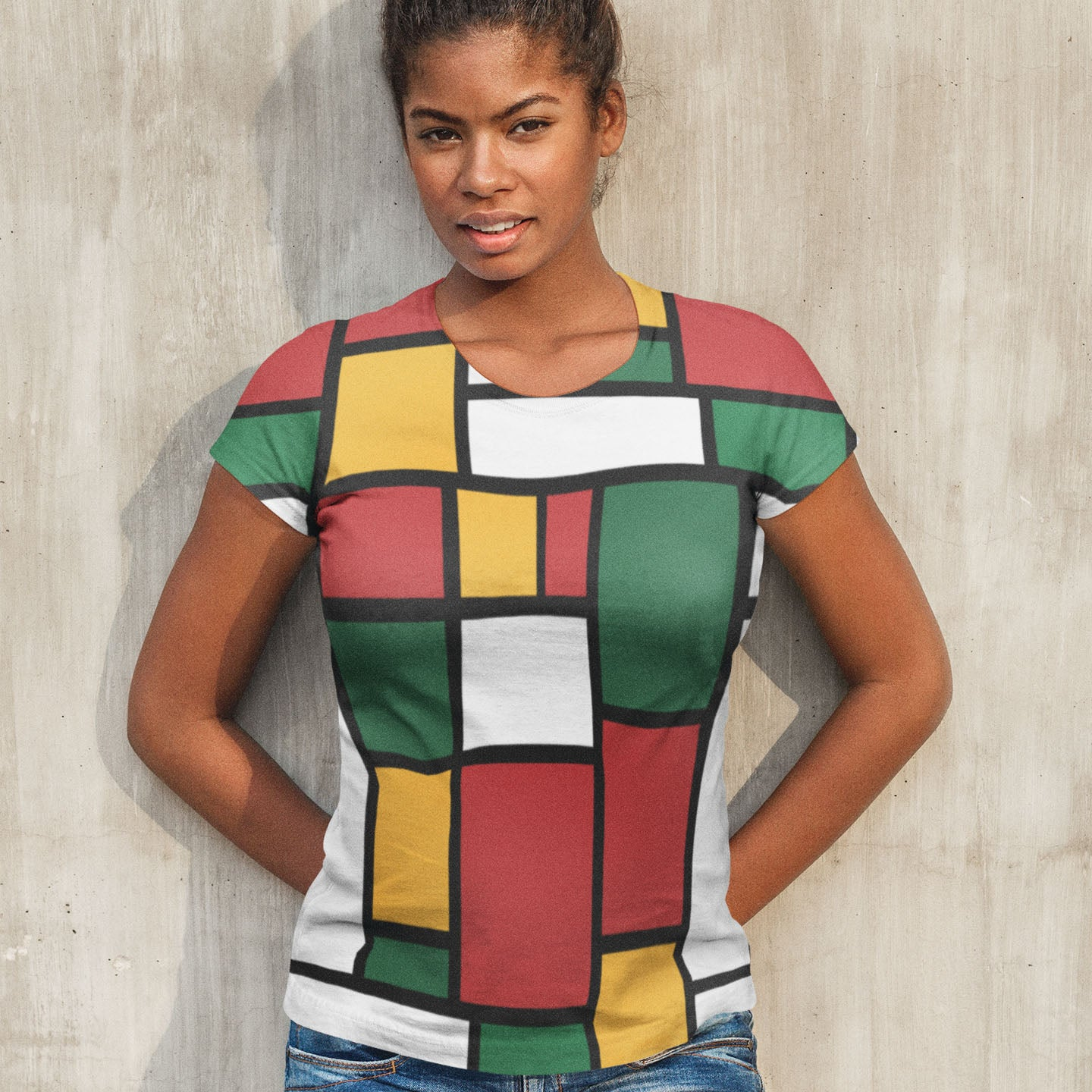 Ethiopian Colors Art Women's T-shirt