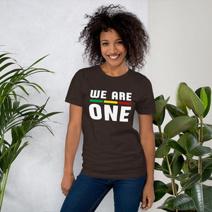 WE ARE ONE T-SHIRT FOR MALE AND FEMALE