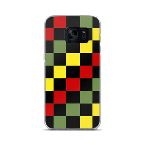 Ethio Checkered Samsung Case
