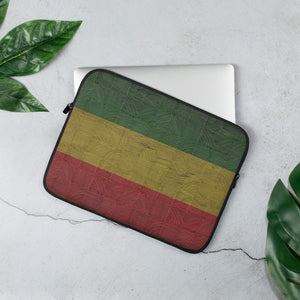 Ethiopian Flag Laptop Sleeve