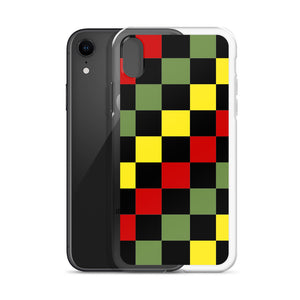 Ethio Checkered iPhone Case